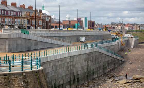 Poundfield Products: Proud to take their part in the Whitley Bay regeneration